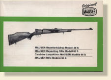 Mauser repeating Rifle Model 66 S papers.