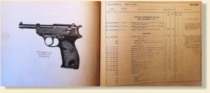 P38 Manual made for the French Army. All Rights Reserved,
