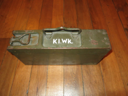 WWII Tool Box MG34, MG42, K98 and P08