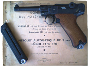 French Manual and P08 second variation sn 367 with French star.