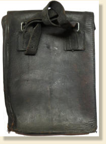 WWII German Leather Bag For Map or Document